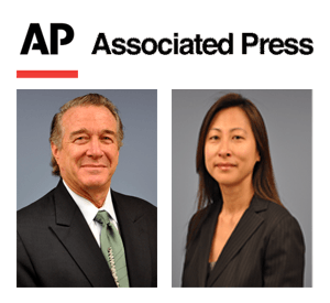 Alan Plevy and Kyung (Kathryn) Dickerson featured by the Associated Press