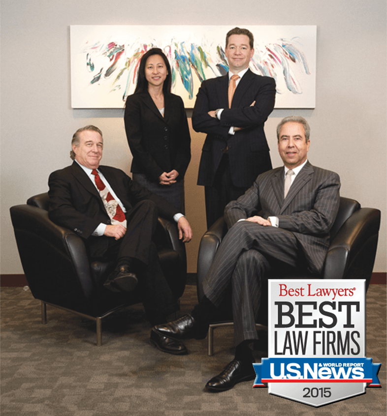 "SmolenPlevy named to 2015 ""Best Law Firms"" as a first-tier family law firm."
